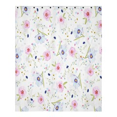 Floral Pattern Background  Shower Curtain 60  x 72  (Medium)
