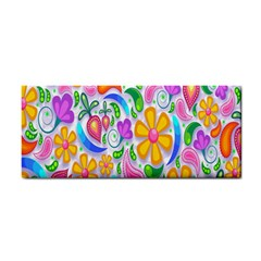 Floral Paisley Background Flower Cosmetic Storage Cases