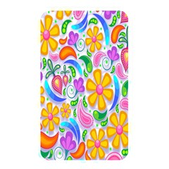 Floral Paisley Background Flower Memory Card Reader