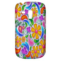 Floral Paisley Background Flower Galaxy S3 Mini
