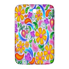 Floral Paisley Background Flower Samsung Galaxy Note 8 0 N5100 Hardshell Case