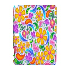 Floral Paisley Background Flower Galaxy Note 1