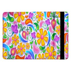 Floral Paisley Background Flower Samsung Galaxy Tab Pro 12 2  Flip Case