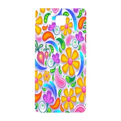 Floral Paisley Background Flower Samsung Galaxy Alpha Hardshell Back Case