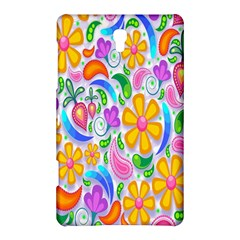 Floral Paisley Background Flower Samsung Galaxy Tab S (8 4 ) Hardshell Case