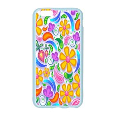 Floral Paisley Background Flower Apple Seamless iPhone 6/6S Case (Color)