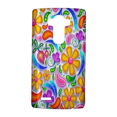 Floral Paisley Background Flower Lg G4 Hardshell Case