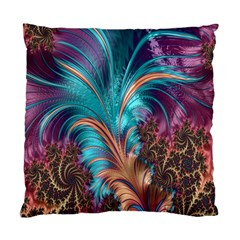 Feather Fractal Artistic Design Standard Cushion Case (Two Sides)