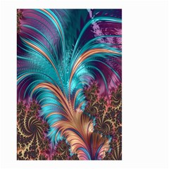 Feather Fractal Artistic Design Small Garden Flag (two Sides)