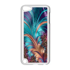 Feather Fractal Artistic Design Apple Ipod Touch 5 Case (white)
