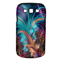 Feather Fractal Artistic Design Samsung Galaxy S Iii Classic Hardshell Case (pc+silicone)