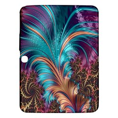 Feather Fractal Artistic Design Samsung Galaxy Tab 3 (10.1 ) P5200 Hardshell Case