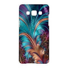 Feather Fractal Artistic Design Samsung Galaxy A5 Hardshell Case
