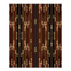 Floral Strings Pattern Shower Curtain 60  x 72  (Medium)