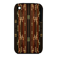 Floral Strings Pattern Iphone 3s/3gs