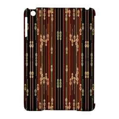 Floral Strings Pattern Apple iPad Mini Hardshell Case (Compatible with Smart Cover)