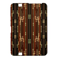 Floral Strings Pattern Kindle Fire HD 8.9