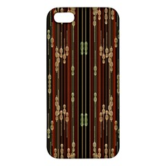 Floral Strings Pattern Apple iPhone 5 Premium Hardshell Case