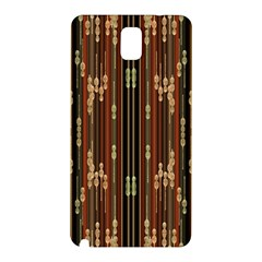 Floral Strings Pattern Samsung Galaxy Note 3 N9005 Hardshell Back Case