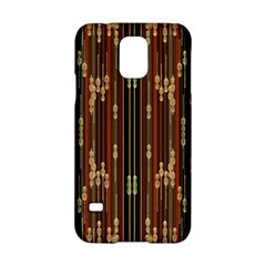 Floral Strings Pattern Samsung Galaxy S5 Hardshell Case
