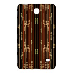 Floral Strings Pattern Samsung Galaxy Tab 4 (8 ) Hardshell Case