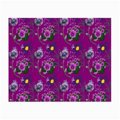 Flower Pattern Small Glasses Cloth (2-Side)