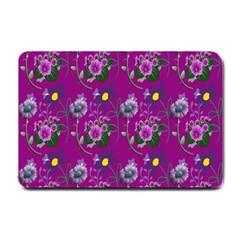 Flower Pattern Small Doormat