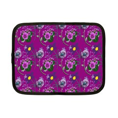 Flower Pattern Netbook Case (Small)