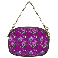 Flower Pattern Chain Purses (Two Sides)