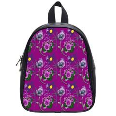 Flower Pattern School Bags (small)