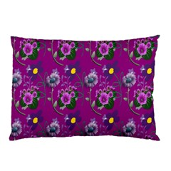 Flower Pattern Pillow Case (Two Sides)