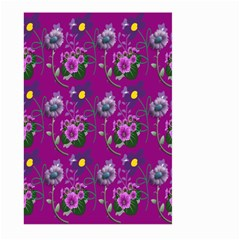 Flower Pattern Large Garden Flag (Two Sides)