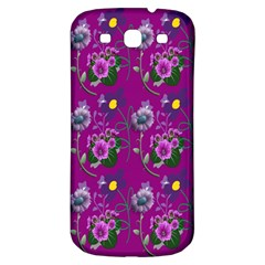 Flower Pattern Samsung Galaxy S3 S Iii Classic Hardshell Back Case