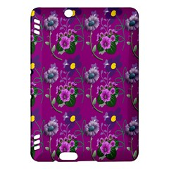 Flower Pattern Kindle Fire Hdx Hardshell Case