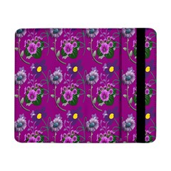 Flower Pattern Samsung Galaxy Tab Pro 8 4  Flip Case