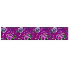 Flower Pattern Flano Scarf (large)