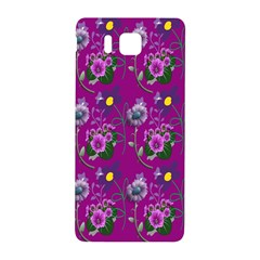Flower Pattern Samsung Galaxy Alpha Hardshell Back Case