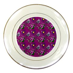 Flower Pattern Porcelain Plates