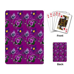 Flower Pattern Playing Card