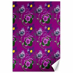 Flower Pattern Canvas 20  x 30