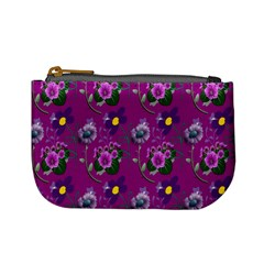Flower Pattern Mini Coin Purses