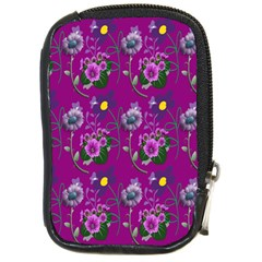 Flower Pattern Compact Camera Cases
