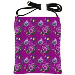 Flower Pattern Shoulder Sling Bags
