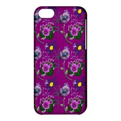 Flower Pattern Apple iPhone 5C Hardshell Case