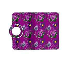 Flower Pattern Kindle Fire HD (2013) Flip 360 Case
