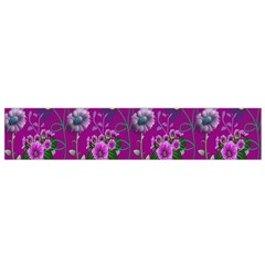 Flower Pattern Flano Scarf (small)