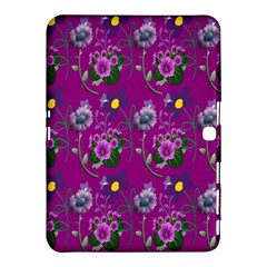 Flower Pattern Samsung Galaxy Tab 4 (10.1 ) Hardshell Case