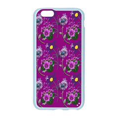 Flower Pattern Apple Seamless iPhone 6/6S Case (Color)