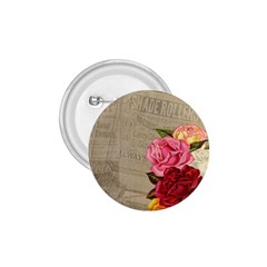 Flower Floral Bouquet Background 1.75  Buttons