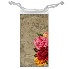 Flower Floral Bouquet Background Jewelry Bag